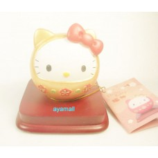 Sanrio Hello Kitty poly small decoration-golden