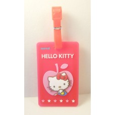Sanrio Hello kitty luggage name tag-apple