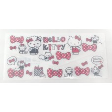 Sanrio Hello Kitty document bag/pouch w/pocket-white
