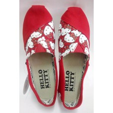 Sanrio Hello kitty cloth-surface shoes-red