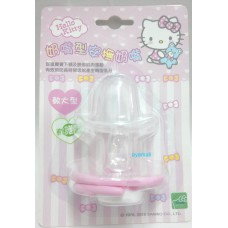 Sanrio Hello Kitty baby/kid silicone pacifier/soother w/cover-elder/A