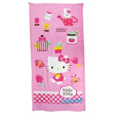 Sanrio Hello Kitty bath towel-walk