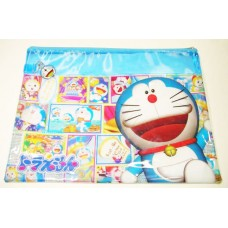 Doraemon meshed zipper A4 document bag