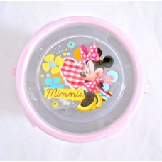 Disney minnie mouse insulated bowl w/spoon
