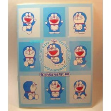 Doraemon sticker album w/drawing book
