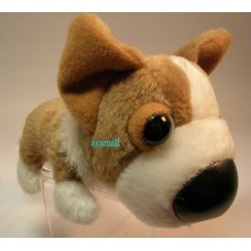 The dog plush doll phone strap