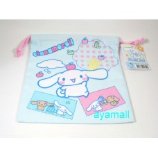 Sanrio cinnamoroll cloth drawstring bag