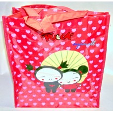 Pucca+Garu zipper school hand bag