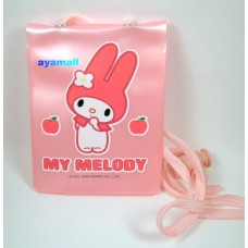 Sanrio my melody card holder/neck strap