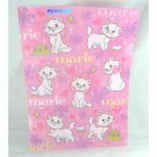 Disney Japan Marie cat A4 clean file/folder