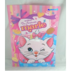 Disney Japan Marie cat A4 clean file/folder-eye