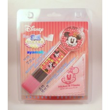 Mickey minnie mouse pc cleaner brush w/cloth