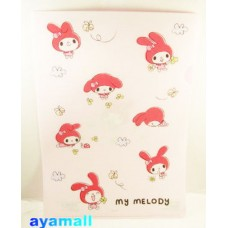 Sanrio Japan my melody clean file/folder-pink/Q style