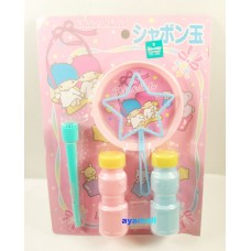 Sanrio Japan kiki&lala/LittleTwin stars bubble toy set~for collecting