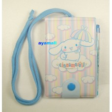 Sanrio cinnamoroll notebook/memo w/pencil/eraser