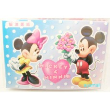 mickey mouse+minne facial absorbent paper