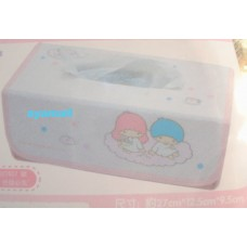 Sanrio Little twin stars/kiki & lala tissue case/box cover