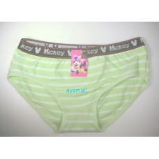 mickey mouse Panties/underpants-green
