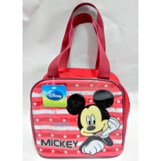 Disney mickey mouse zipper lunch hand bag-red
