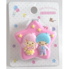 Sanrio kiki&lala/Little Twin Stars nial clippers w/chain-pink
